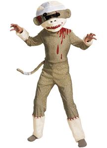 Dead Sock Monkey Child Costume
