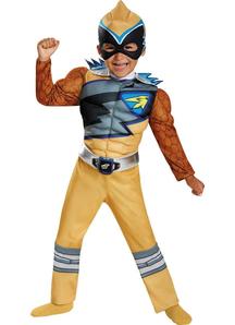 Dino Gold Ranger Toddler Costume