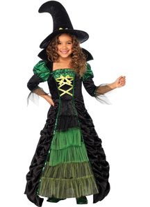 Fairytale Witch Child Costume