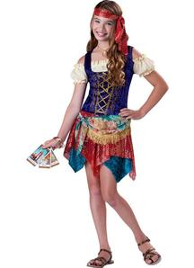 Fancy Gypsy Child Costume