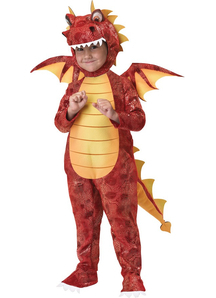 Fiery Dragon Child Costume