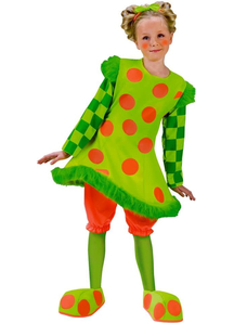 Funny Clown Kids Costume