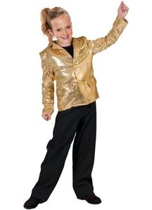 Gold Disco Jacket Child