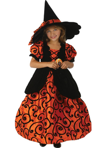 Gorgeous Witch Child Costume