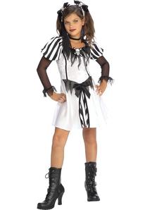 Goth Pirate Child Costume