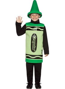Green Crayola Child Costume