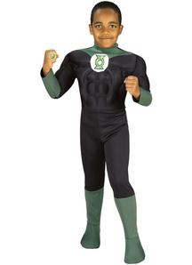 Green Latern Child Costume