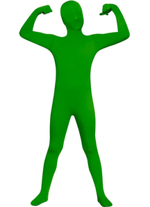 Green Skin Suit Kids