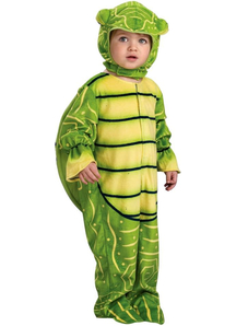 Green Turtle Child Costume