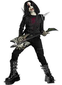Heavy Metal Child Costume