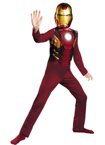 Iron Man Mark 7 Child Costume