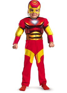 Iron Man Muscle Child Costume