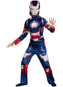 Iron Patriot Child Costume