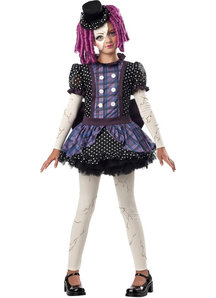 Little Broken Doll Child Costume