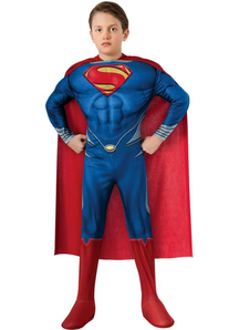 Man Of Steel Superman Child Costume
