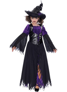 Mischievious Witch Child Costume