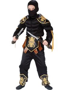 Ninja Combat Child Costume