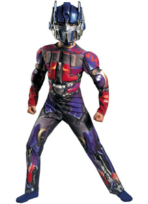 Optimus Prime Muscle Child Costume
