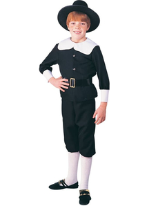 Pilgrim Boy Child Costume