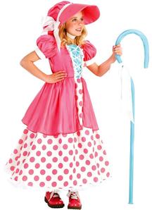 Pink Bo Peep Child Costume