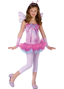 Pink Butterfly Child Costume