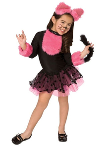 Pink Kitty Child Costume
