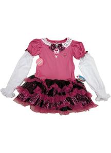 Pink Monster High Dress Child