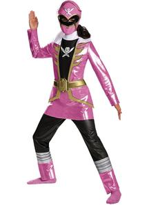 Pink Power Ranger Girls Costume