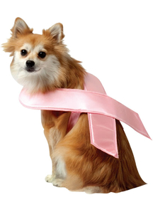 Pink Ribbon Pet Costume