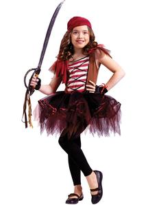 Pirate Ballerina Child Costume