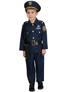 Police Boy Child Costume