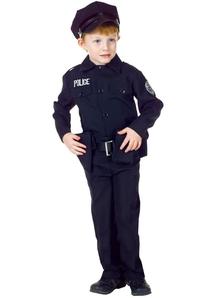 Police Man Child Costume
