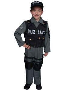 Police Swat Child Costume