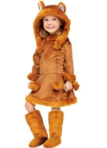 Pretty Fox Child Costume