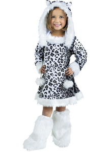 Pretty Leoparder Toddler Costume