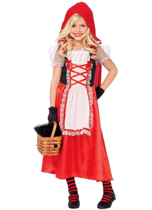Pretty Red Riding Hood Child Costume