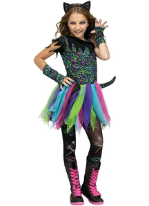 Punk Cat Child Costume
