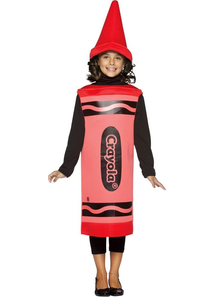 Red Pencil Crayola Child Costume