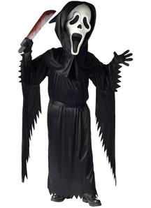 Scream Ghost Child Costume