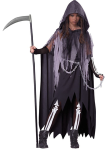 She Is Reaper Child Costume