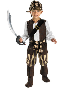 Skull Pirate Child Costume