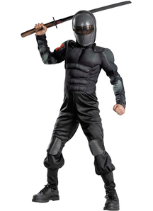Snake Eyes Muscle Child Costume