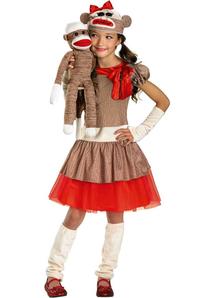 Sock Monkey Child Costume
