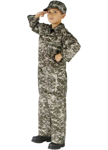 Soldier Child Costume