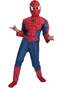 Spiderman Muscle Child Costume - 11938