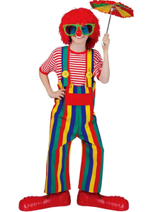 Summer Clown Child Costume