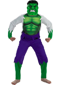 Superhero Hulk Child Costume