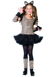 Sweet Leopard Child Costume