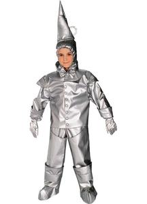Tin Man Wizard Of Oz Child Costume
