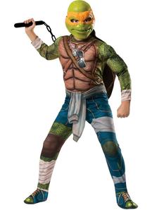 Tmnt Michelangelo Child Costume